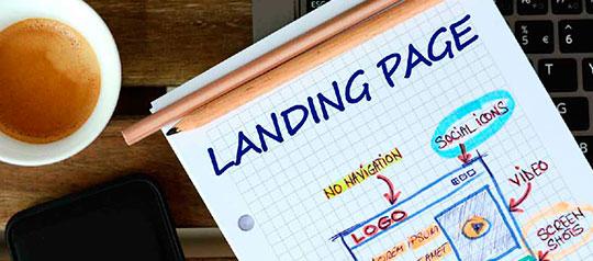 Landing page o página de destino ¿Qué es y cuándo usarla?