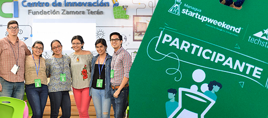 Me fui al Startup Weekend Managua