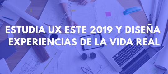 Aprender de UX para este 2019