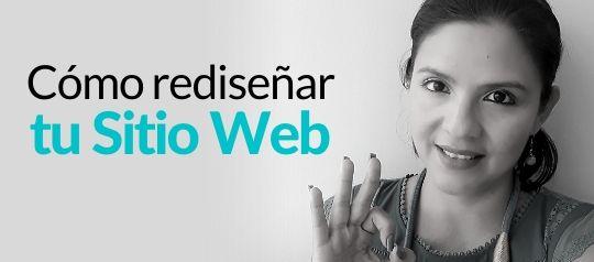 Cómo rediseñar tu sitio web