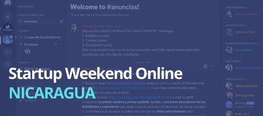 Cómo fue el primer Startup Weekend Online
